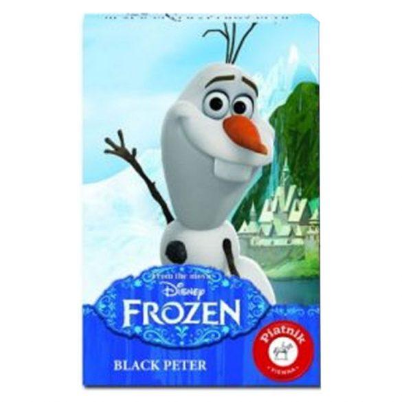 Walt Disney Jégvarázs Olaf Fekete Péter kártya