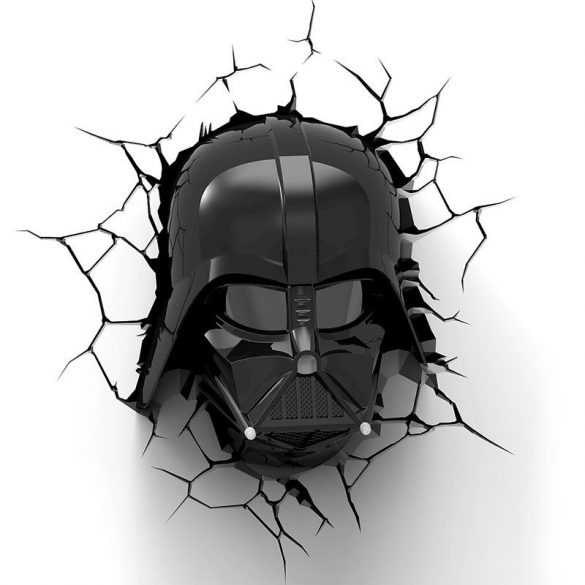 Star Wars Darth Vader 3D fali lámpa