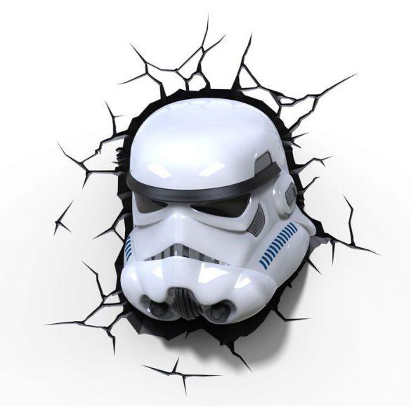 Star Wars Rohamosztagos 3D fali lámpa