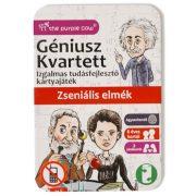 Géniusz Kvartett - Zseniális elmék ismeretterjesztő kártya játék