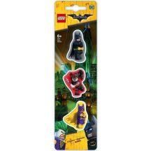 LEGO 51759 Batman Mozifilm radír 3 db (Batman, Harley Quinn és Batgirl)