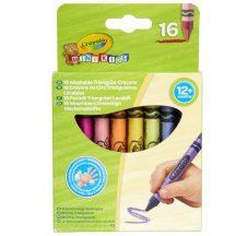 Crayola - háromszög zsírkréta - 16 db