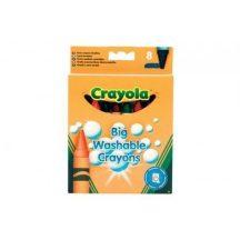 Crayola - 8 db-os vastag, lemosható zsírkréta