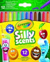 Crayola Illatos csavarozható zsírkréta (12 db-os)