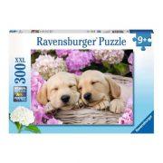 Ravensburger 13235 XXL Puzzle - Édes kutyusok (300 db-os)