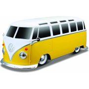 """Maisto Tech RC távirányítós autó 1:24 méretaránnyal - Volkswagen One """"Samba"""" (citromsárga)"""