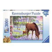 Ravensburger 13242 XXL Puzzle - Lovak a naplementében (300 db-os)