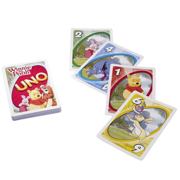 Micimackó UNO kártya