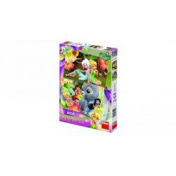 Dino 38512 puzzle - Csingiling és barátai (2x66 db-os)
