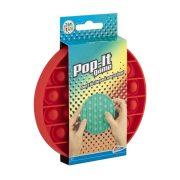 Pop-it buborék pukkasztó játék - Piros színben