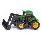 SIKU 1395 John Deere traktor homlokrakodóval
