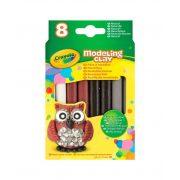 Crayola 8 db-os gyurmakészlet, natúr