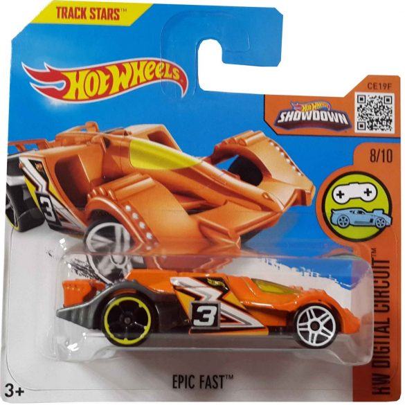Hot Wheels Digital Circuit 2015 kisautók - EPIC FAST 8/11