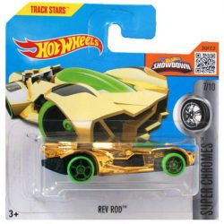 Hot Wheels Super Chromes 2016 kisautók - REV ROD 7/10 (ZÖLD)