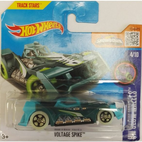 Hot Wheels kisautók HW Glow Wheels Voltage Spike kék  4/11