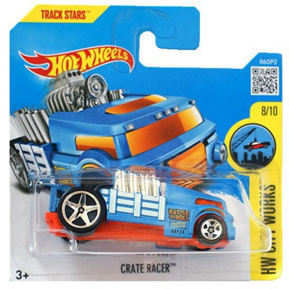 Hot Wheels City Works 2016 kisautók - CRATE RACER 8/11