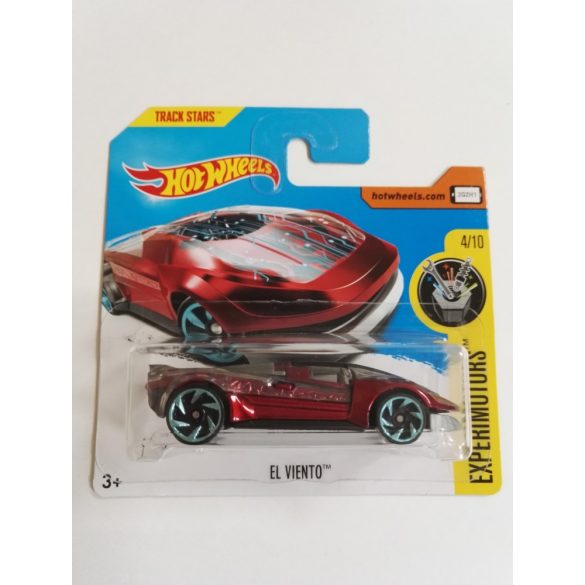 Hot Wheels Experimotors 2017 kisautók - EL VIENTO 4/10