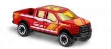 Hot Wheels HW Rescue 2017 kisautók - '15 FORD F-150 10/10 (PIROS)