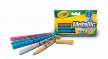 Crayola - Metál színű filcek 5 db-os