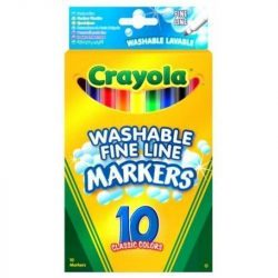 Crayola - vékony filctollak a finom vonalakhoz - 10 db