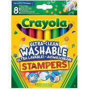 Crayola - Extra kimosható nyomdafilc