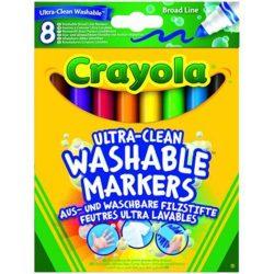 Crayola Extra - lemosható, vastag filctoll - 8 db