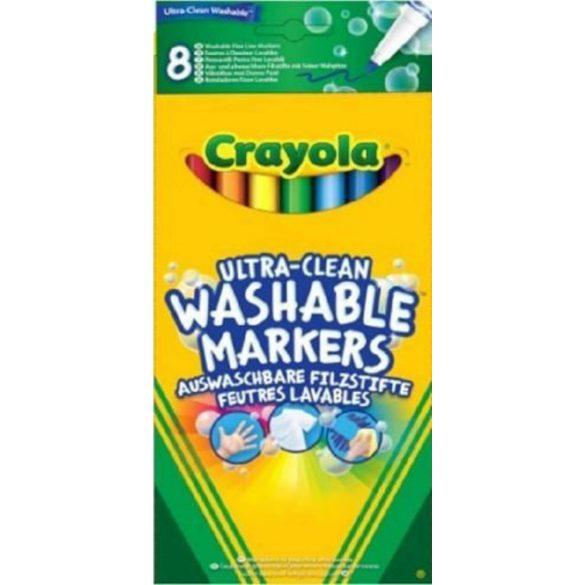 Crayola Extra lemosható Vékony filctoll 8 db