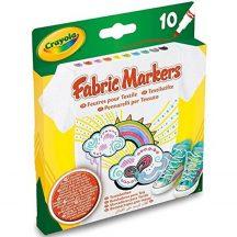 Crayola - 10 db-os textilfilc