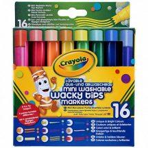Crayola - Különleges hegyű mintázófilc 16 db-os
