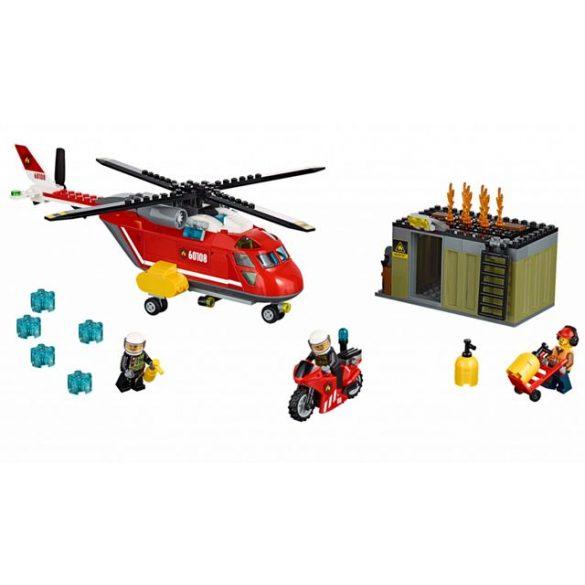 LEGO City Fire 60108 Sürgősségi tűzoltó egység