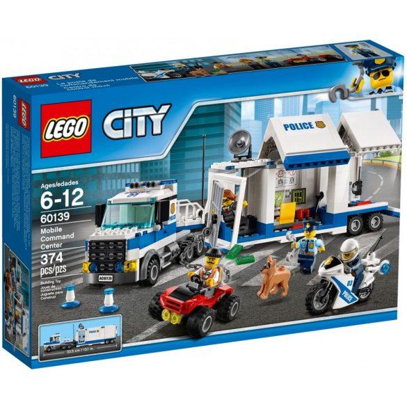 LEGO City 60139 Mobil rendőr központ