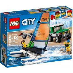 LEGO City 60149 Terepjáró katamaránnal