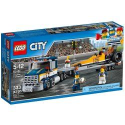 LEGO City 60151 Dragster szállító kamion