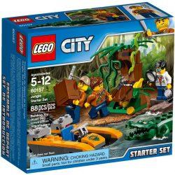 LEGO City 60157 Dzsungel kezdőkészlet