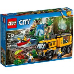 LEGO City 60160 Dzsungel mozgó labor