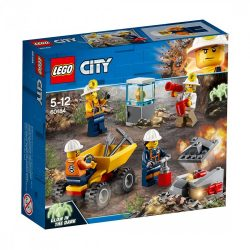 LEGO City 60184 Bányászcsapat