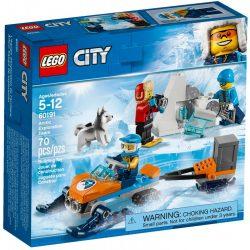 LEGO City Arctic Expedition 60191 Sarkvidéki expedíciós csapat