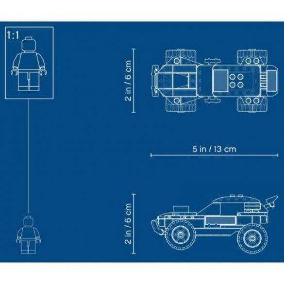 LEGO City Great Vehicles 60218 Sivatagi rali versenyautó