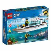 LEGO City Great Vehicles 60221 Búvárjacht
