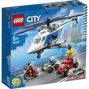 LEGO City 60243 Rendőrségi helikopteres üldözés