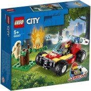 LEGO City 60247 Erdőtűz
