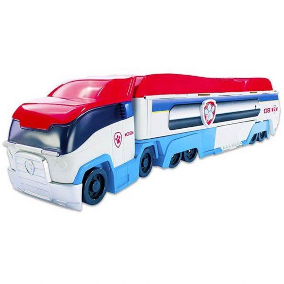 Mancs őrjárat: a csapat szállító kamionja