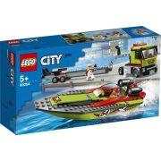 LEGO City Great Vehicles 60254 Versenycsónak szállító