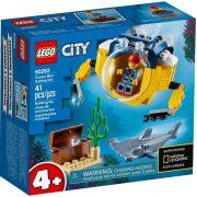 LEGO City Oceans 60263 Óceáni mini-tengeralattjáró