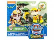 Mancs őrjárat Dzsungel mentés figura kiegészítővel - RUBBLE