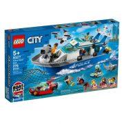 LEGO City 60277 Rendőrségi járőrcsónak