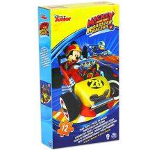 Disney habszivacs puzzle 12 db-os - MICKEY és a VERSENYZŐK