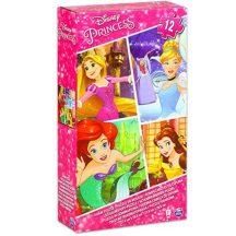 Disney habszivacs puzzle 12 db-os - DISNEY HERCEGNŐK