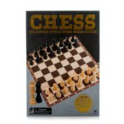 Klasszikus fa sakk készlet
