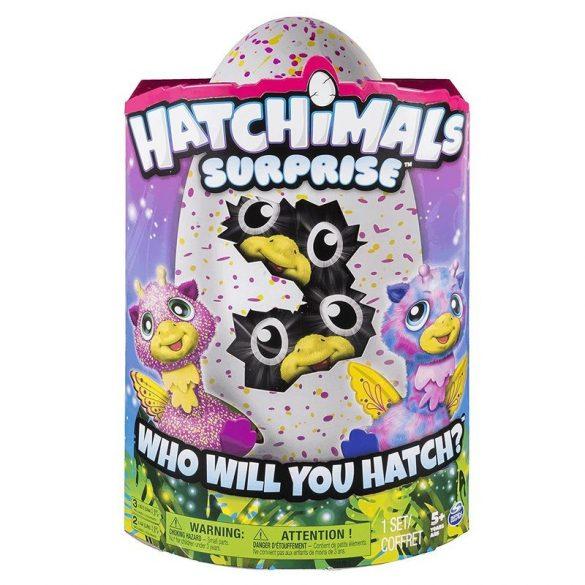 Hatchimals Giraven ikrek interaktív plüss figurák tojásban
